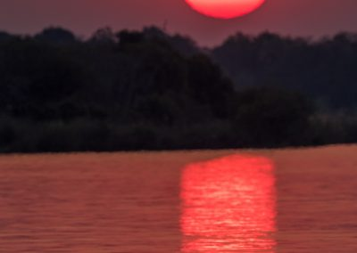 Sunset, Zambezi
